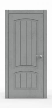 Межкомнатная дверь Бетон Темный 3502