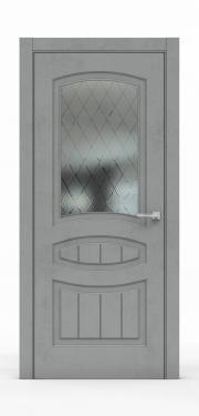 Межкомнатная дверь Бетон Темный 3503-ГР