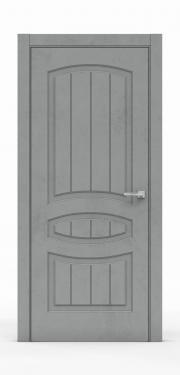 Межкомнатная дверь Бетон Темный 3503
