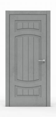 Межкомнатная дверь Бетон Темный 3504