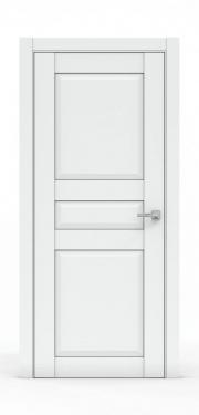 Двери межкомнатные- 344-ГЛ Платина