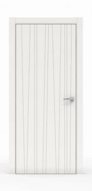 Двери Экошпон Саранск - 0180 Белый