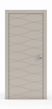 Межкомнатная Дверь нордика - 0160. Цвет - Агат