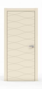 Межкомнатная Дверь нордика - 0160. Цвет - Айвори
