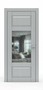 Дверь экошпон- 342-ГР Жемчуг