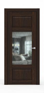 Дверь экошпон- 342-ГР Коньяк