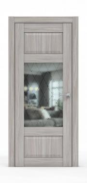 Дверь экошпон- 342-ГР Шимо Светлый