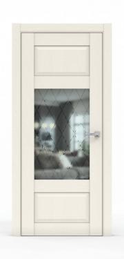 Дверь экошпон- 342-ГР Ясень Ваниль