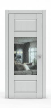 Дверь экошпон- 342-ГР Ясень Серый