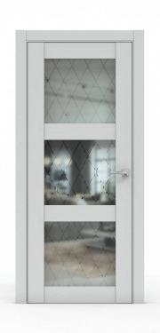 Дверь - 343-ГР Ясень Серый