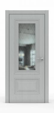 Экошпон дверь - Жемчуг 3302 ГР