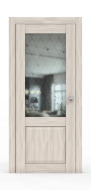 Классическая межкомнатная дверь - 341-ГР Акация