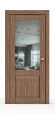 Классическая межкомнатная дверь - 341-ГР Карамель