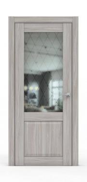 Классическая межкомнатная дверь - 341-ГР Шимо Светлый