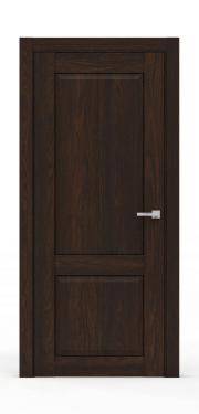 Межкомнатная дверь классика - 341-ГЛ Коньяк