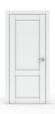 Межкомнатная дверь классика - 341-ГЛ Платина