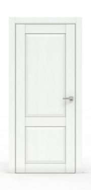 Межкомнатная дверь классика - 341-ГЛ Ясень Белый