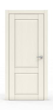 Межкомнатная дверь классика - 341-ГЛ Ясень Ваниль