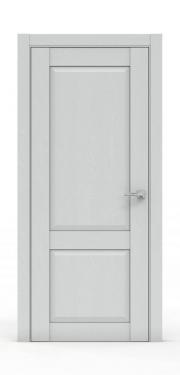Межкомнатная дверь классика - 341-ГЛ Ясень Серый
