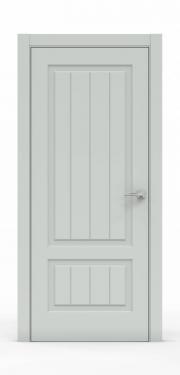 Премиум межкомнатная дверь - Белый 1501