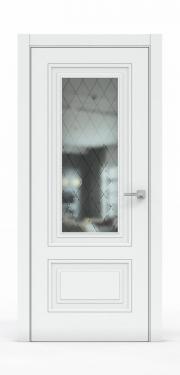 Экошпон дверь - Платина 3302 ГР