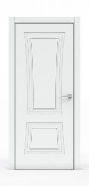 Классическая межкомнатная дверь - Платина 3802
