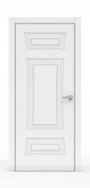 Классическая межкомнатная дверь - Платина 3803