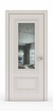 Экошпон дверь - Щербет 3302 ГР