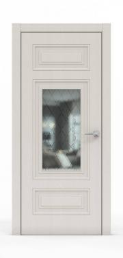 Экошпон дверь - Щербет 3305 ГР