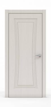 Классическая межкомнатная дверь - Щербет 3801