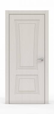 Классическая межкомнатная дверь - Щербет 3802