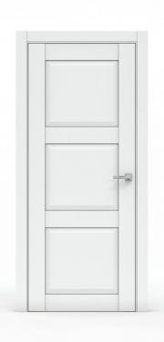 Эталон межкомнатная дверь - 343 Платина