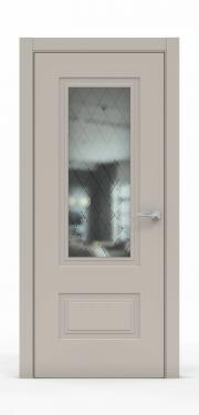 Премиум дверь из эмали - 1302-ГР Агат