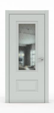 Премиум дверь из эмали - 1302-ГР Папирус
