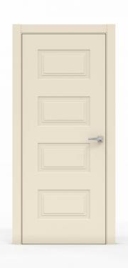 Премиум дверь из эмали - 1304 Айвори