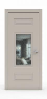 Премиум дверь из эмали - 1305-ГР Агат