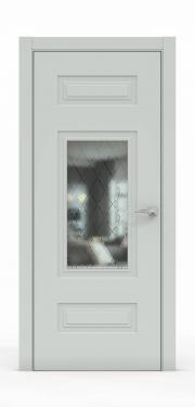 Премиум дверь из эмали - 1305-ГР Папирус
