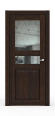 Двери - 344Б-ГР Коньяк
