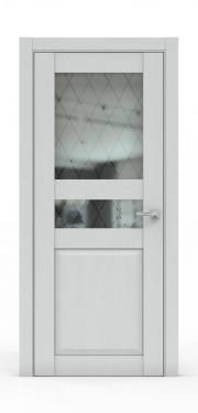 Двери - 344Б-ГР Ясень Серый