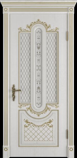 Межкомнатная премиум дверь со стеклом
