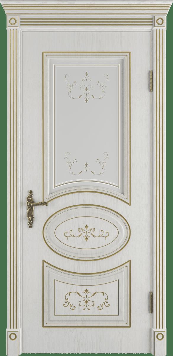 Дверь коллекции дизайн со стеклом