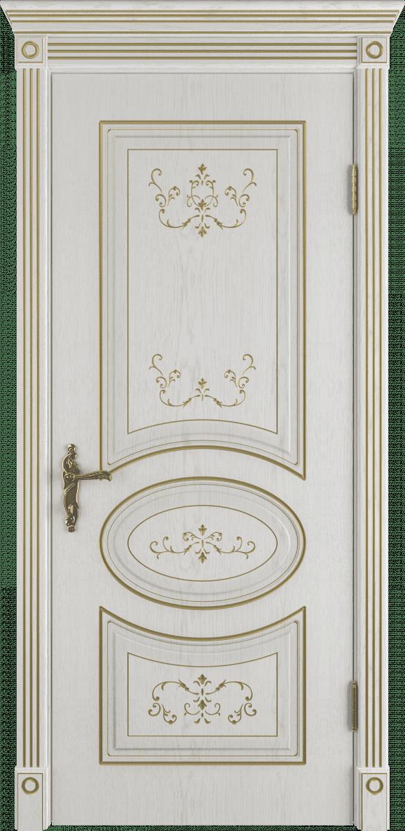 Белая премиум дверь