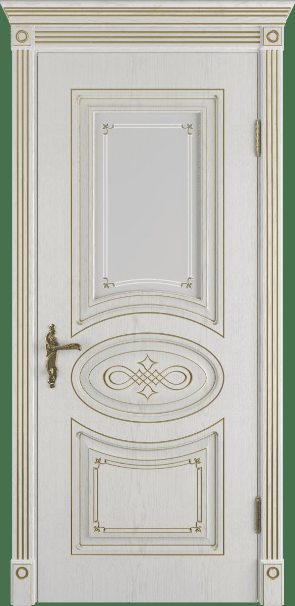 Классическая дверь со стеклом