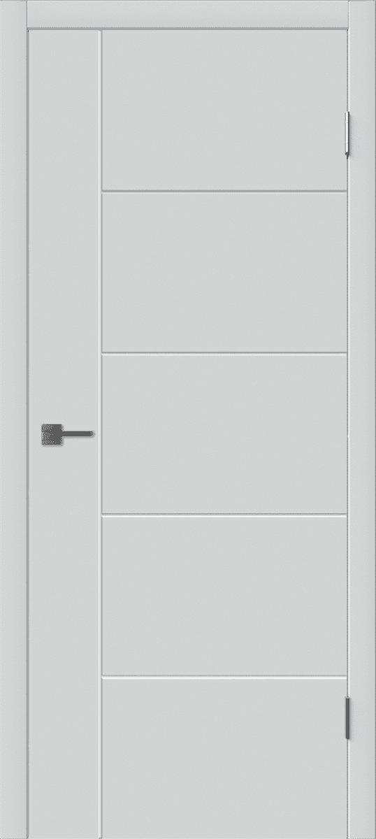 Межкомнатная дверь покрытие эмаль