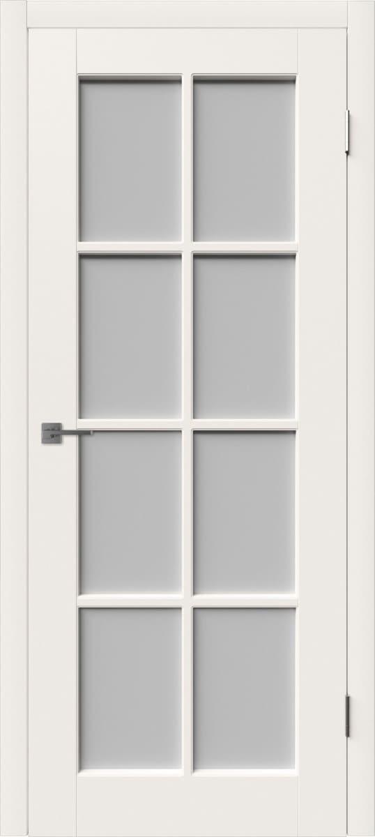 Дверь с большим стеклом