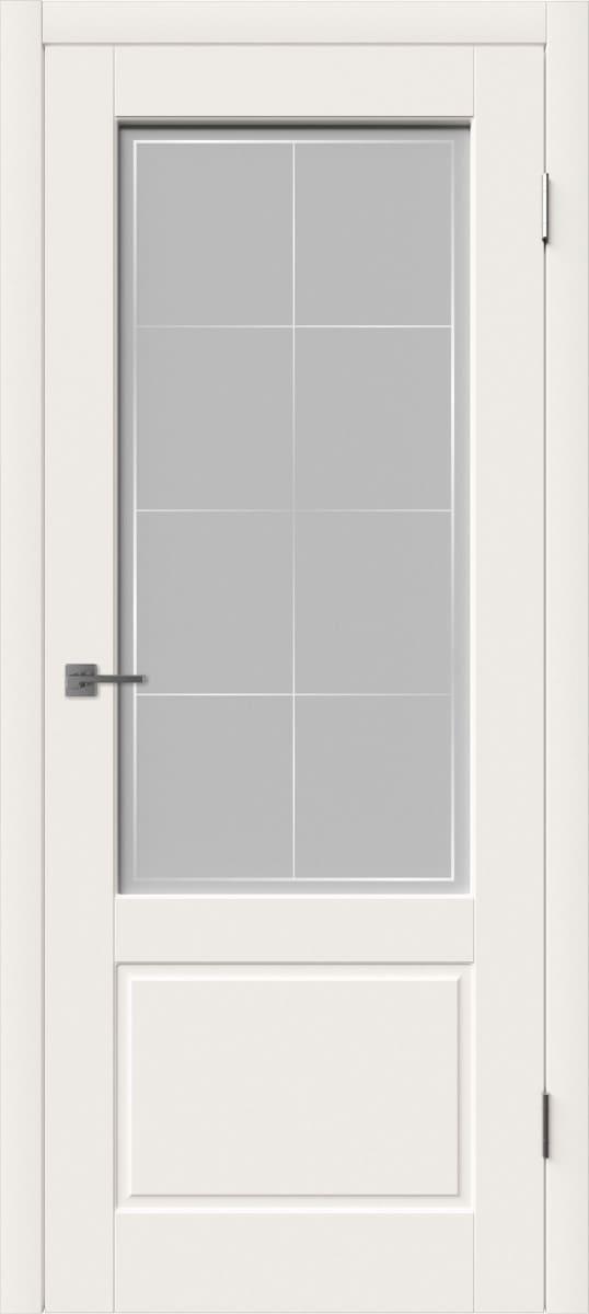 Эмаль дверь со стеклом
