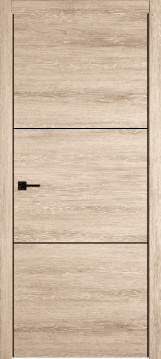Дверь коллекции дизайн с темным молдингом
