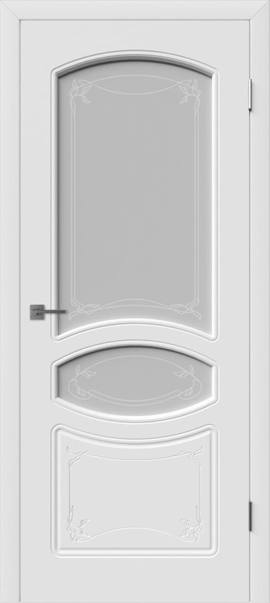 Эмалированная межкомнатная дверь